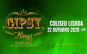 GIPSY KINGS BY ANDRÉ REYES - COLISEU