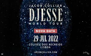 JACOB COLLIER | DJESSE WORLD TOUR | PACOTE VIP