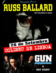 RUSS BALLARD + Gun + Hot Stuff