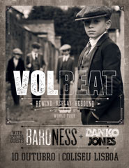 VOLBEAT | FAST TRACK + EARLY ENTRY PACKAGE