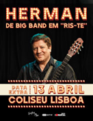 "HERMAN | DE BIG BAND EM ""RIS-TE"""